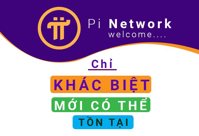 Pi Network khác biệt hoàn toàn với các dự án truyền thống