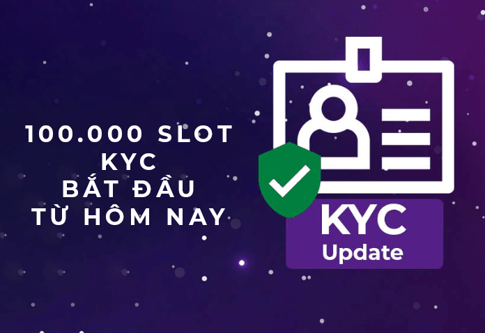 100.000 SLOT KYC PI