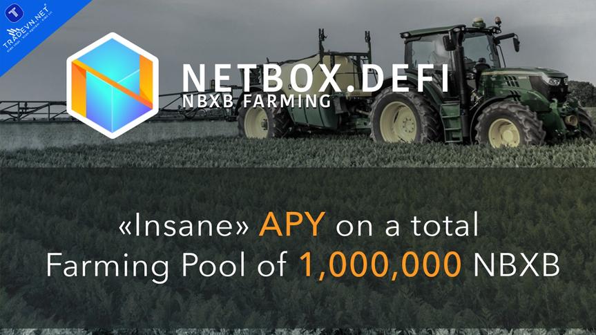 Đổi mới Blockchain: Phát hành Netbox.DeFi và NBXB Farming