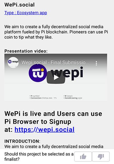 Đánh giá ứng dụng WePi